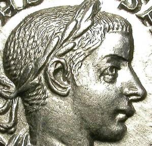 Ancient Coins - GORDIAN III. DENAR. NICE EF. SUCH A NICE COIN!