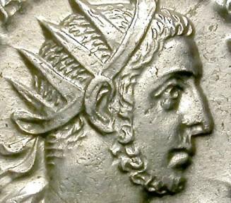 Ancient Coins - GALLIENUS. SILVER ANTONINIANI. UNBELIEVABLE PORTRAIT !!
