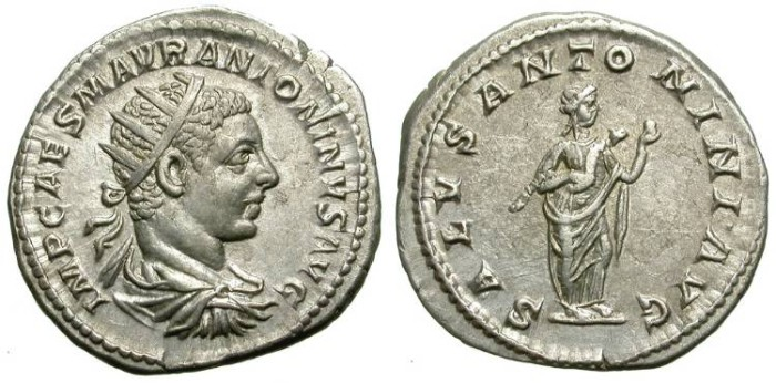 Ancient Coins - ELAGABAL. ANTONINIAN. EF. NICE ISSUE