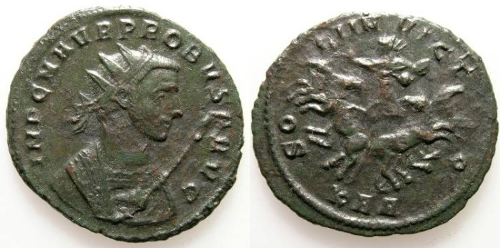 Ancient Coins - PROBUS. ANTONINIAN. SERDICA. RARE ISSUE !