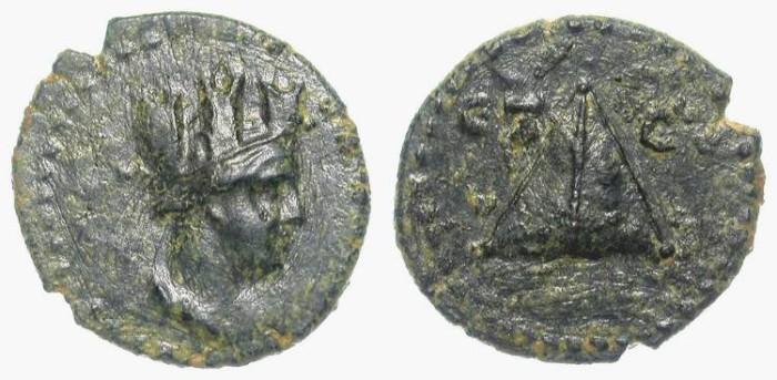 Ancient Coins - CAESAREA in CAPPADOCIA. PSEUDOO-AUTHONOMOUS ISSUE. NICE !