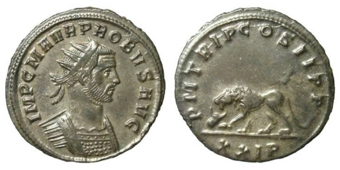 Ancient Coins - PROBUS. ANTONINIANI. EF. RARE REVERSE. WONDERFUL REPRESENTATION OF AN INTERESTING ISSUE !