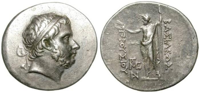 Ancient Coins - PRUSIAS I. BITHYNIA. TETRADRACHM. IMPRESSIVE HELENISTIC PORTRAIT