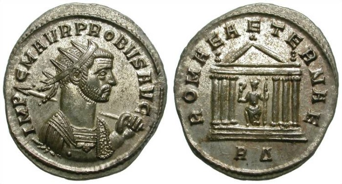 Ancient Coins - PROBUS. ANTONINIAN. ROME. RARE ISSUE. AMAZING QUALITY!