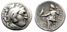 Ancient Coins - ALEXANDER III. 310-301 BC. AR DRACHM. KOLOPHON. ATTRACTIVE. /1