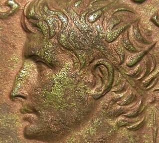 Ancient Coins - DIVUS AUGUSTUS. DUPONDIUS. NO PATINA. FANTASTIC SPECIMEN WITH A GORGEOUS PORTRAIT