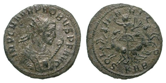 Ancient Coins - PROBUS. ANTONINIAN. VF. SERDICA. NOT LISTED IN RIC W/ THAT BUST !