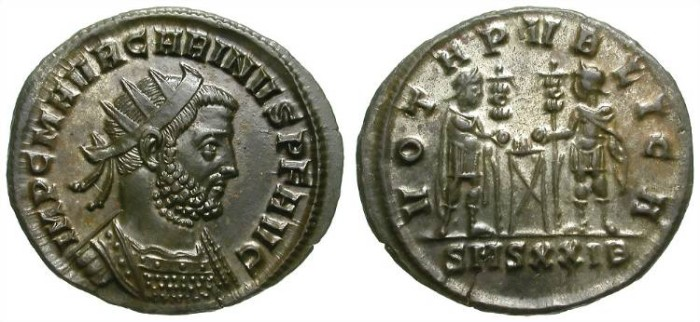 Ancient Coins - CARINUS AS AUGUSTUS. AE ANTONINIAN. NICE EF. INTERESTING REVERSE !