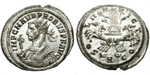 Ancient Coins - PROBUS. BILLON ANTONINIANUS. FULL SILVERING. SUCH A NICE BUST