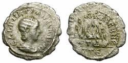 Ancient Coins - TRANQUILLINA. SILVER DRACHM. CAESAREA, CAPPADOCIA. RARE EMISSION. OPPORTUNITY /2