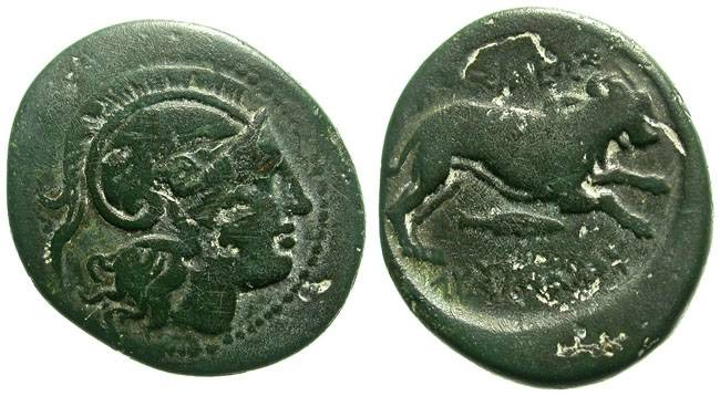 Ancient Coins - LYSIMACHOS. AE 22. SO NICE PATINA. INTERESTING