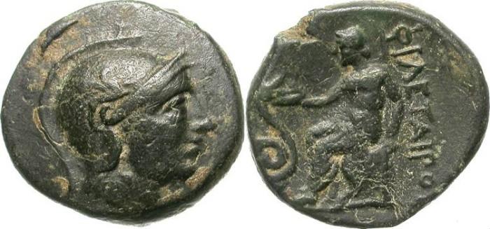 Ancient Coins - PHILETAIROS, KING OF PERGAMON, MYSIA. NICE AE ISSUE