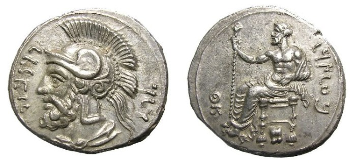 Ancient Coins - TARSUS  STATER.  PHARNABAZOS.  VERY  HIGH  QUALITY.