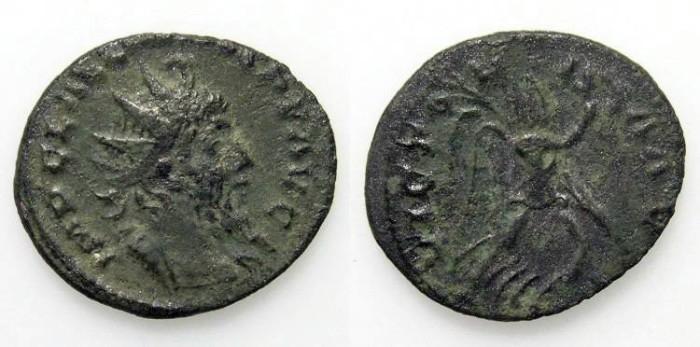 Ancient Coins - Laelianus. Antoninian. VF. Rare emperor. Nice coin for the rarity !