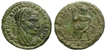 Ancient Coins - DIVO MAXIMIANO. POSTHUMOUS FOLLIS. SCARCE AND INTERESTING LATE ROMAN ISSUE
