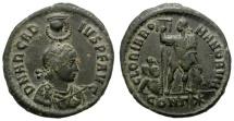 Ancient Coins - ARCADIUS. AE NUMMUS. CONSTANTINOPLE MINT. VERY NICE COIN