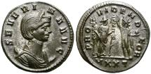 Ancient Coins - SEVERINA, AD 270-274. ANTONINIANUS. TICINUM. GOOD CONDITION.