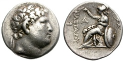 Ancient Coins - KINGDOM OF PERGAMON. ATTALOS UNDER THE NAME OF PHILETAIROS. SILVER TETRADRACHM