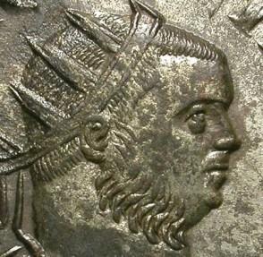 Ancient Coins - TACITUS. AE ANTONINIAN. EF. NICE PORTRAIT