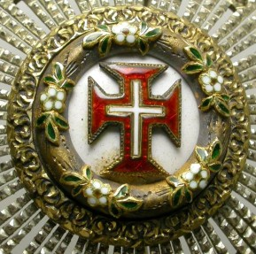 Ancient Coins - PORTUGAL. PLAQUE OF THE ORDER OF CHRIST. WONDERFUL PIECE