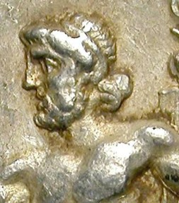 Ancient Coins - ALEXANDER THE GREAT. TETRADRACHM. RARE METHYMNA MINT !. WINE RELATED
