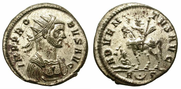 Ancient Coins - PROBUS. AE ANTONINIAN. ATTRACTIVE PORTRAIT.