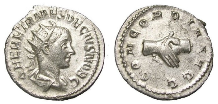 Ancient Coins - HERENNIUS  ETRUSCUS  A. D.  251