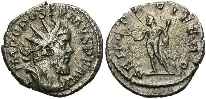 Ancient Coins - POSTUMUS.  AD 259-268  AR ANTONINIANUS. ATTRACTIVE. GOOD PRICE.