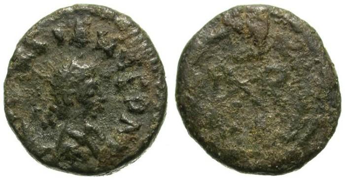 Ancient Coins - MARCIAN. MINIATURE LATE ROMAN AE COIN