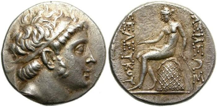 Ancient Coins - SELEUKOS III. KERAUNOS (226-223) BC. TETRADRACHM. NICE  PORTRAIT.
