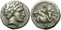 Ancient Coins - LAMPSAKOS, MYSIA. DIOBOL. A NUMISMATIC MINIATURE JEWEL/2