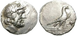 Ancient Coins - OINOANDA, LYCIA. SILVER STATER. VERY RARE. AFFORDABLE