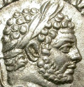 Ancient Coins - CARACALLA.  SILVER DENARIUS.  ATTRACTIVE PIECE.