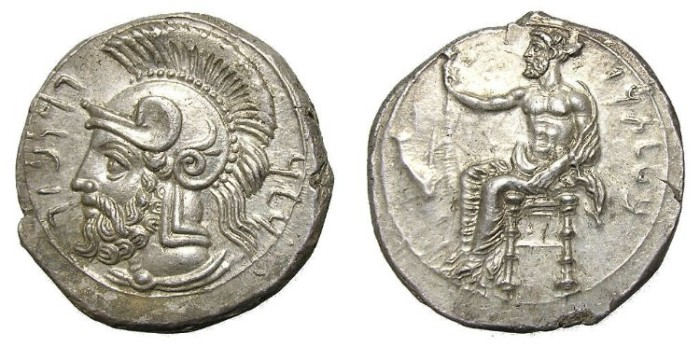 Ancient Coins - TARSUS.  STATER.  PHARNABAZOS.  HIGH  QUALITY.