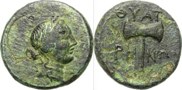 Ancient Coins - THYATEIRA, LYDIA. AE AUTHONOMOUS ISSUE. NICE
