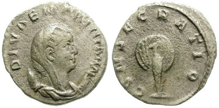 Ancient Coins - FILLING THE HOLE: MARINIANA. AFFORDABLE YET INTERESTING ISSUE