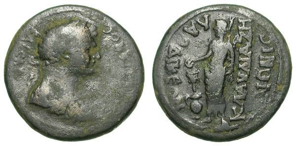 Ancient Coins - DOMITIAN. PROVINCIAL AE. LAODIKEIA. INTERESTING