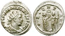 Ancient Coins - GALLIENUS. AD 253-268. ANTONINIANUS. SAMOSATA. ATTRACTIVE.