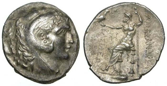 Ancient Coins - ALEXANDER THE GREAT. TETRADRACHM. KALLATIS. NOT IN PRICE !