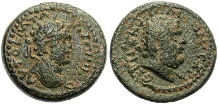 Ancient Coins - RARE PROVINCIAL AE. CARACALLA. IRENOPOLIS, CILICIA. OPPORTUNITY !