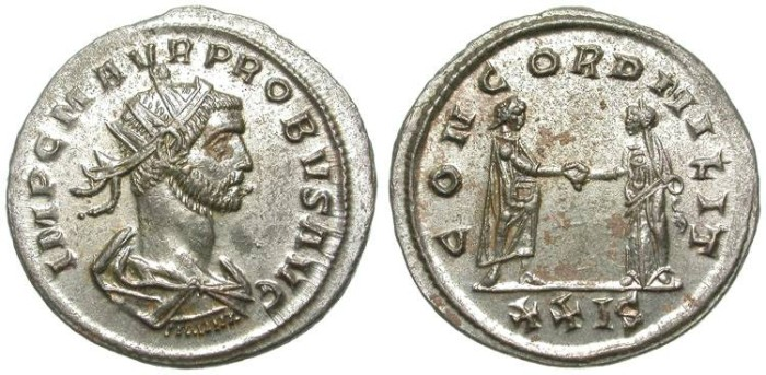 Ancient Coins - PROBUS. AE ANTONINIANUS. SISCIA. SUCH A NICE CONDITION