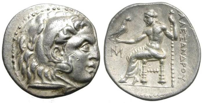 Ancient Coins - ALEXANDER THE GREAT. POSTHUMOUS  DRACHM. A NICE COIN