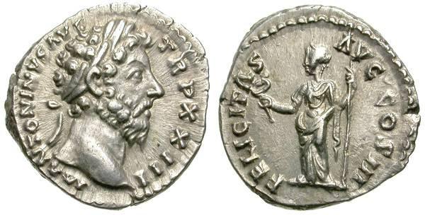 Ancient Coins - MARC AUREL. SILVER DENARIOS. NICE PORTRAIT /2