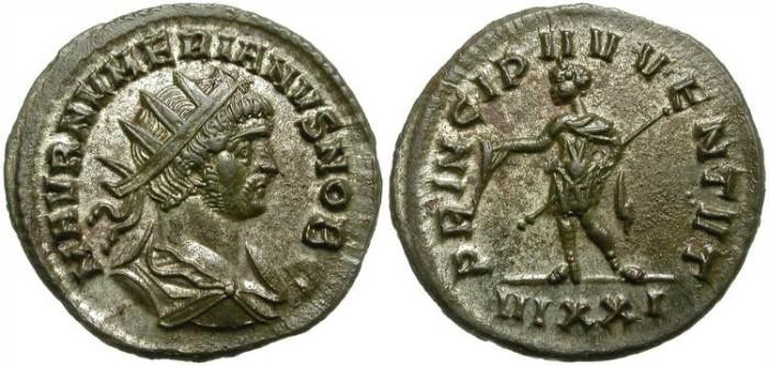 Ancient Coins - NUMERIAN.  AE ANTONINIANUS. TICINUM MINT. GREAT CONDITION.