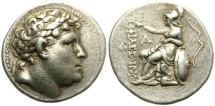 Ancient Coins - PERGAMON. ATTALOS I UNDER THE NAME OF PHILETAIROS. SILVER TETRADRACHM. NICE PIECE /2