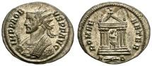 Ancient Coins - PROBUS  276-282 AD.  ANTONINIANUS. ROME. NICE BUST LEFT.