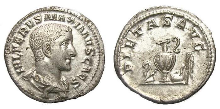 Ancient Coins - MAXIMUS  DENARIUS.  GREAT  QUALITY.