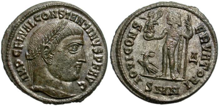 Ancient Coins - CONSTANTINUS I THE GREAT. FOLLIS. NICOMEDIA. GOOD QUALITY.