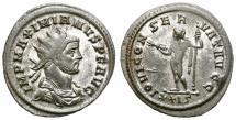 Ancient Coins - MAXIMIANUS. 286-305 AD. ANTONINIANUS. ROME. BEAUTIFUL PORTRAIT.