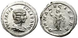 Ancient Coins - IULIA DOMNA. SILVER DENARIUS. 193-217 AD. NICE PORTRAIT.